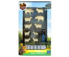 Pack pastor, carnero, ovejas, corderos y vallado New Ray 05515 - Ítem1