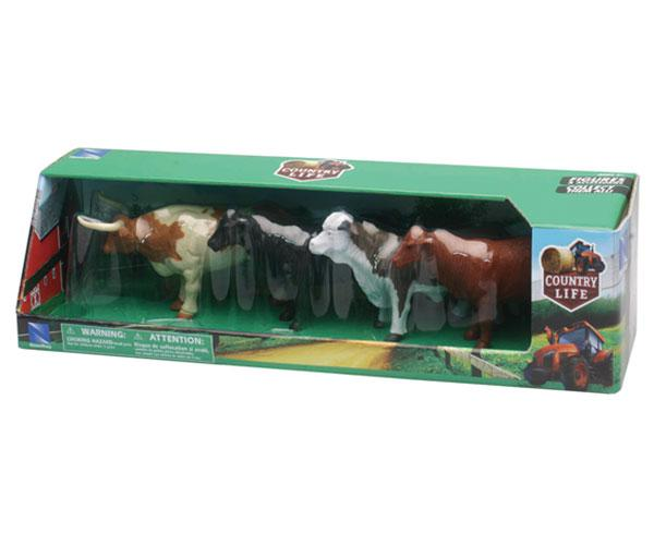 Pack toros y vacas (4 unidades) New Ray 05526 - Ítem1