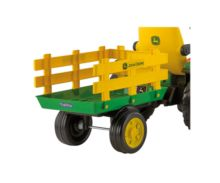 Tractor de batería JOHN DEERE con remolque Peg-Perego OR0047 - Ítem10