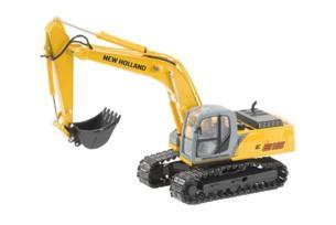 Réplica excavadora NEW HOLLAND E215 cadenas metálicas