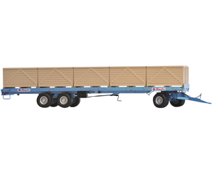 Réplica remolque MAUPU transporte de palets