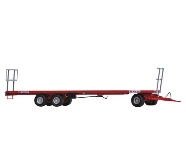 Réplica remolque MAUPU transporte pacas cilíndricas - Ítem3