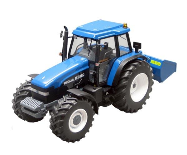 Replica tractor NEW HOLLAND 8360 con cazo