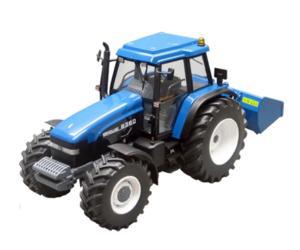 Replica tractor NEW HOLLAND 8360 con cazo