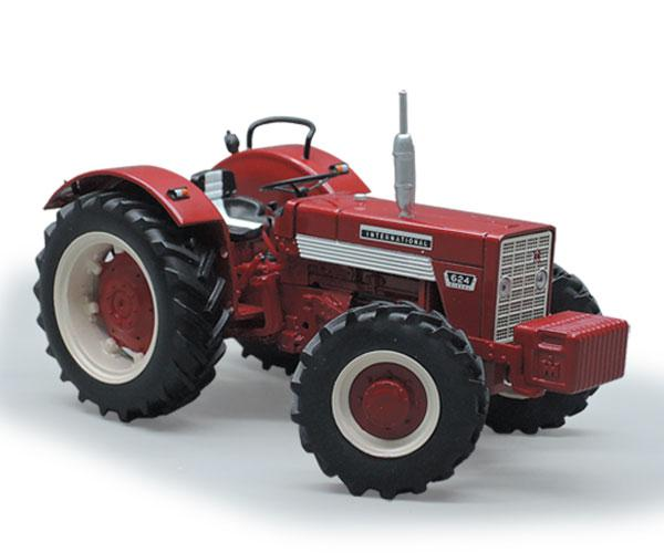 Réplica tractor INTERNATIONAL 624 4X4