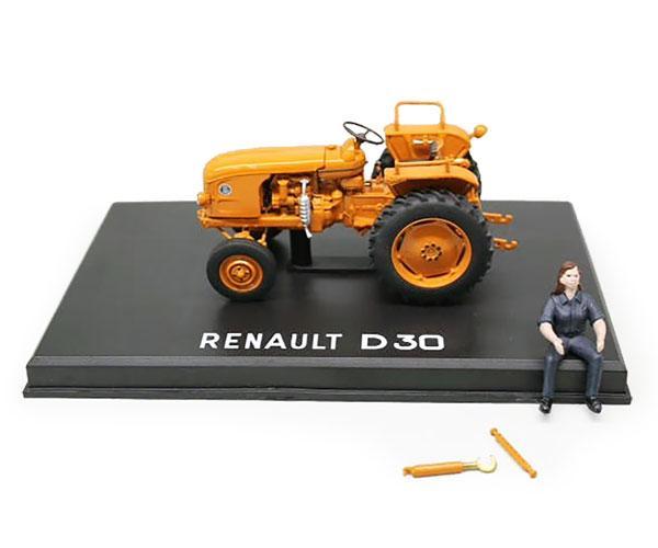 Réplica tractor RENAULT D30 con conductora Replicagri REP143 - Ítem1