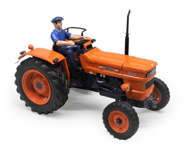Réplica tractor FIAT 640 con conductor Replicagri Rep158