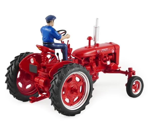 Réplica tractor FARMALL Super FC 1953 con conductor Replicagri REP174 - Ítem1