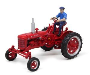 Réplica tractor FARMALL Super FC 1953 con conductor Replicagri REP174