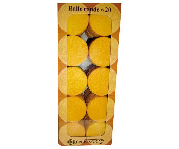 pack de 20 pacas en miniatura color paja