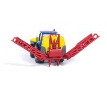 Miniatura tractor NEW HOLLAND con pulverizador KVERNELAND Siku 01799 - Ítem1