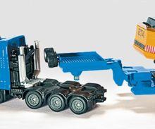Miniatura camión MAN con góndola y excavadora LIEBHERR 974 - Ítem2