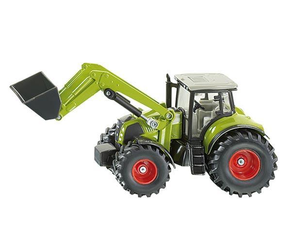 Miniatura tractor CLAAS con pala