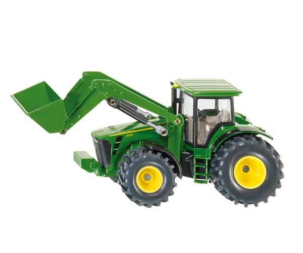 Miniatura tractor JOHN DEERE 430 con pala