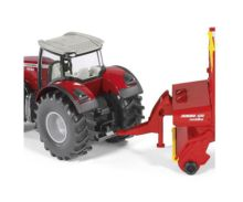 Miniatura tractor MASSEY FERGUSON con remolque POTTINGER Siku 1987 - Ítem2