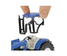Miniatura tractor NEW HOLLAND con pala con remolque STRAUTMANN Siku 1988 - Ítem2
