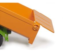 Miniatura tractor FENDT con remolque Siku 1989 - Ítem2