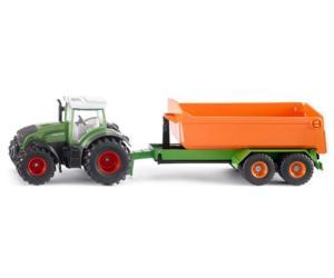 Miniatura tractor FENDT con remolque Siku 1989