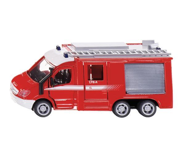 Miniatura furgon bomberos MERCEDES BENZ Sprinter 6x6