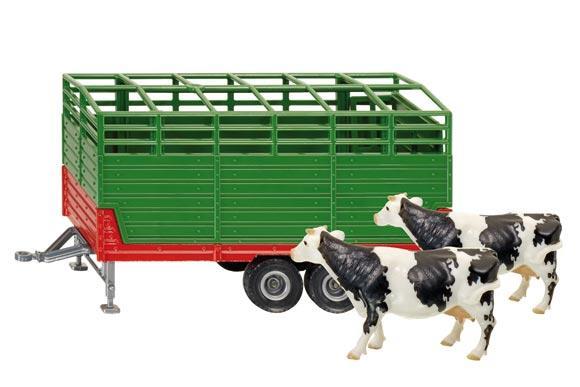 Miniatura remolque para el transporte de animales