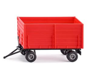 Miniatura remolque rojo Siku 02898