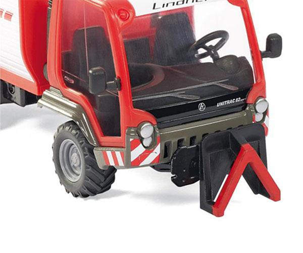 Miniatura vehiculo LINDNER Unitrac con remolque - Ítem3