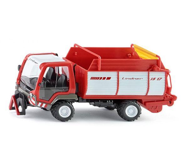 Miniatura vehiculo LINDNER Unitrac con remolque