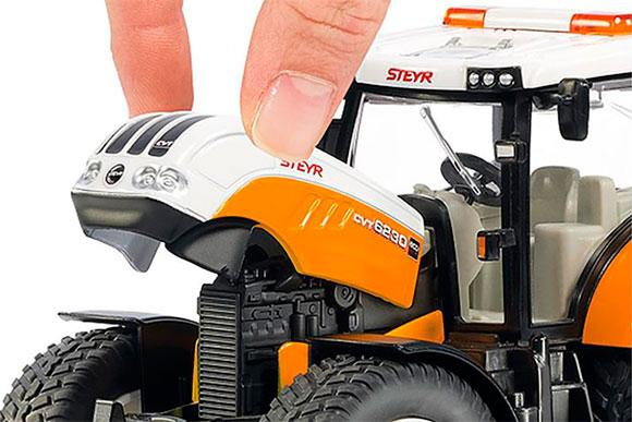 Miniatura tractor de servicios STEYR 6240 CVT - Ítem4