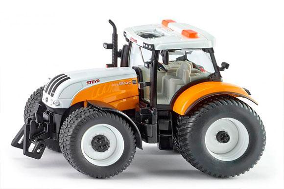 Miniatura tractor de servicios STEYR 6240 CVT
