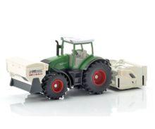 SIKU 1:32 Miniatura tractor FENDT 936 Vario con accesorios de construcción de carreteras - Ítem3