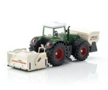 Miniatura tractor FENDT 936 Vario con accesorios de construcción de carreteras - Ítem4