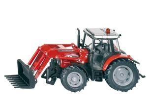 Miniatura tractor MASSEY FERGUSON 894 con cargadora frontal