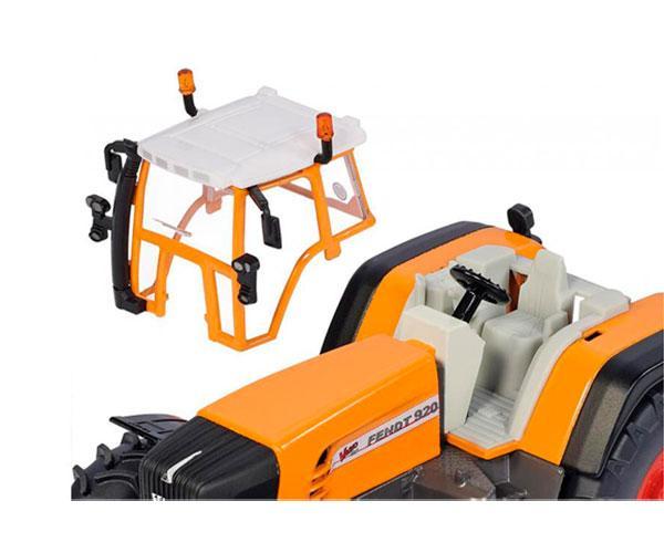 Miniatura tractor servicios FENDT 930 Vario con cortadora de nieve Siku 3660 - Ítem3