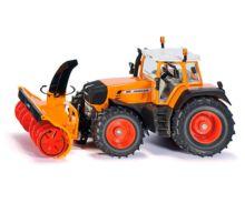 Miniatura tractor servicios FENDT 930 Vario con cortadora de nieve Siku 3660 - Ítem1