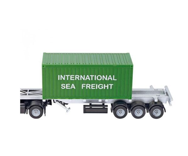 Miniatura camión MERCEDES BENZ LKW transporte contenedores Siku 3921 - Ítem2