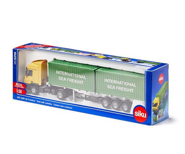 Miniatura camión MERCEDES BENZ LKW transporte contenedores Siku 3921 - Ítem5