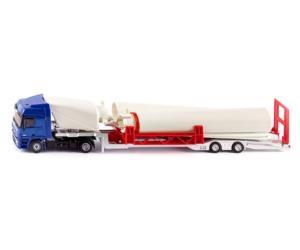 Miniatura camión MERCEDES BENZ Actros con molino Siku 3935