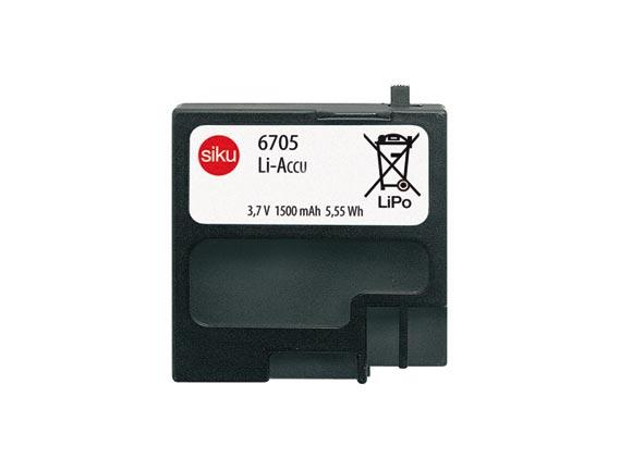 Bateria recargable para vehículos a radio control Siku