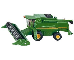 Miniatura cosechadora JOHN DEERE 9680