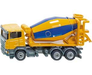 Miniatura camión SCANIA con hormigonera LIEBHERR