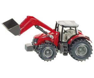 Miniatura tractor MASSEY FERGUSON con pala
