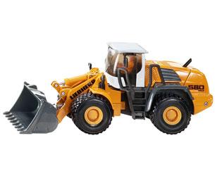 Miniatura cargadora LIEBHERR R580 2plus2