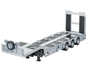 Remolque góndola radio control para camión