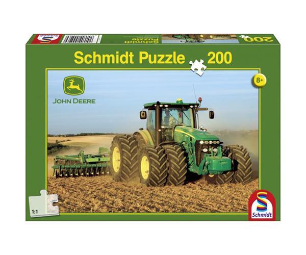 Puzzle tractor JOHN DEERE 8270R de 200 piezas