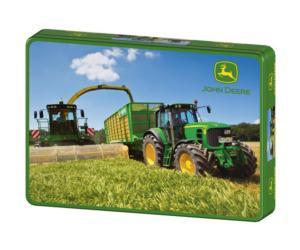 Puzzle tractor JOHN DEERE 7530 Premium y cosechadora J.D.7950i de 200 piezas