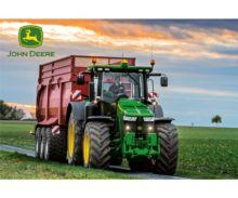 Puzzle tractor JOHN DEERE con remolque KRAMPE de 60 piezas Schmidt 56043 - Ítem1