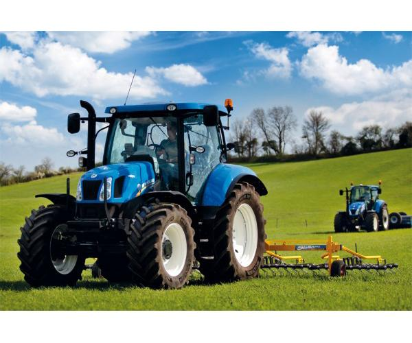 Puzzle tractor NEW HOLLAND T6AC de 60 piezas - Ítem1