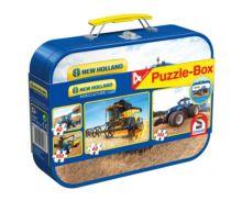 Caja metálica con 4 puzzles NEW HOLLAND - Ítem5