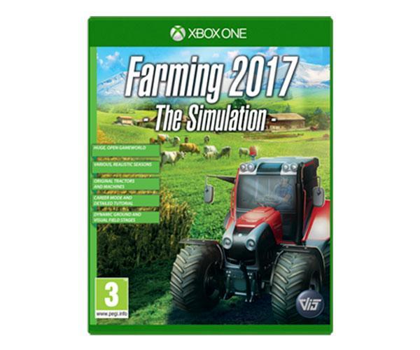 Juego consola Professional Farmer 2017 para XBOX ONE