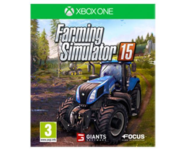 Caratula Farming Simulator 2015 para XBOX ONE en español
